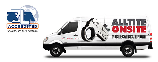 The MobileCal Mobile Calibration Van